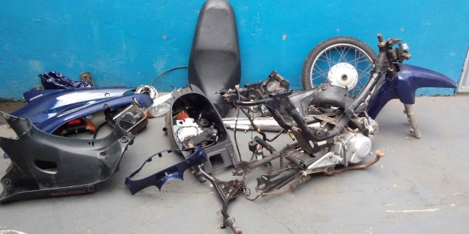 Polícia Militar apreende maconha e recupera moto roubada em Caldas Novas