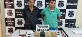 GENARC Itumbiara prende irmãos suspeitos de tráfico interestadual