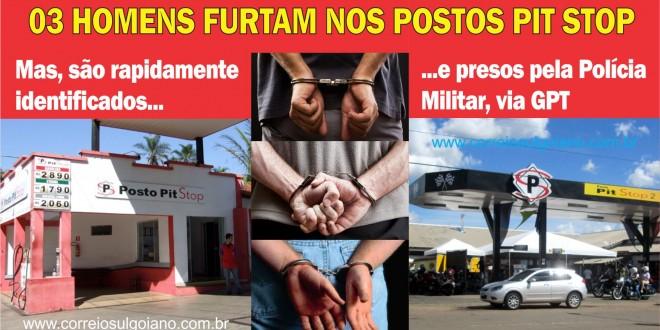 De novo! Mais 02 estabelecimentos comerciais são furtados em Morrinhos