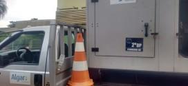 Polícia Civil apreende motor gerador por poluição sonora em Itumbiara
