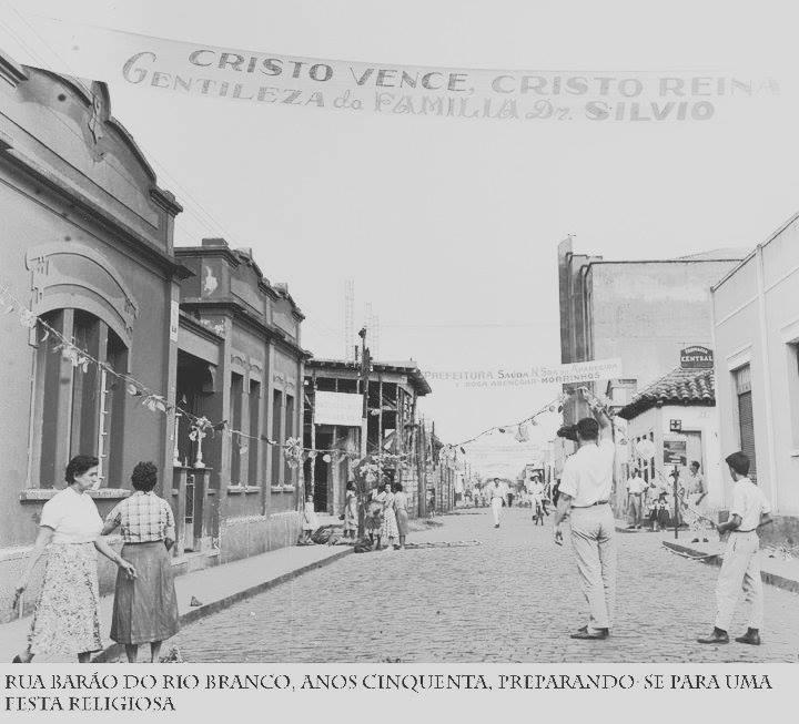 Barao do Rio Branco anos 50 A