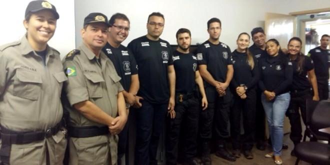 Polícias Civil e Militar realizam Operação Conjunta em Caldas Novas