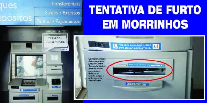 Autoridades de prontidão contra furto em agências bancárias de Morrinhos, Goiatuba, Piracanjuba e região