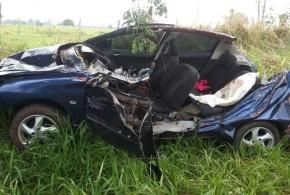 GO-139: Acidente mata condutor ao colidir com máquina agrícola na rodovia entre Calas Novas e Piracanjuba
