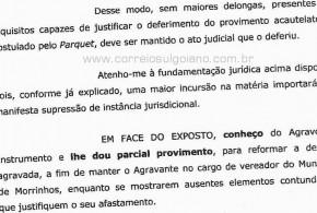 Tribunal de Justiça de Goiás determina volta de Wllinton Tom ao cargo de vereador