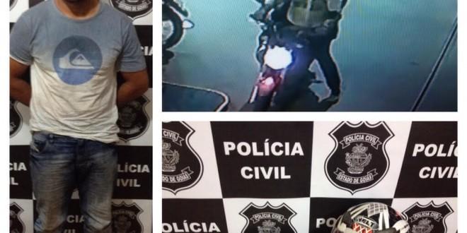 Polícia Civil prende suspeito de tentativa de homicídio em Pontalina