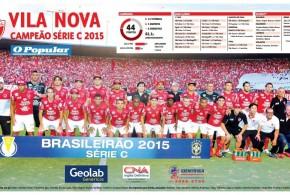 É CAMPEÃO: Vila Nova vence Londrina em jogo de cinema no Serra Dourada