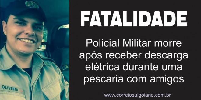 Soldado de 23 anos morre após receber forte descarga elétrica em dia de folga