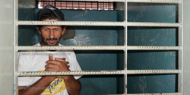 Preso suspeito de matar Edinho a pauladas no meio rural. Polícia Civil cumpriu mandado de prisão