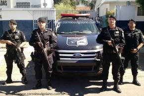 Equipe do COD identifica e prende suspeito de latrocínio. Homem era foragido do presídio de Morrinhos