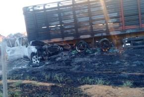 Queimada pode ter causado acidente: quatro pessoas morreram e quatro ficaram feridas!