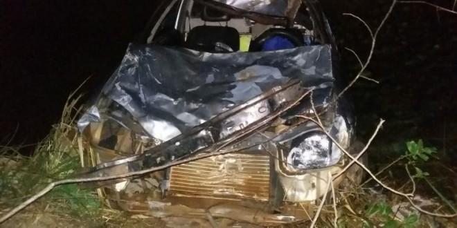 BR-070: Condutor atropela bovino e morre após colisão contra animal. PRF tenta identificar dono da vaca