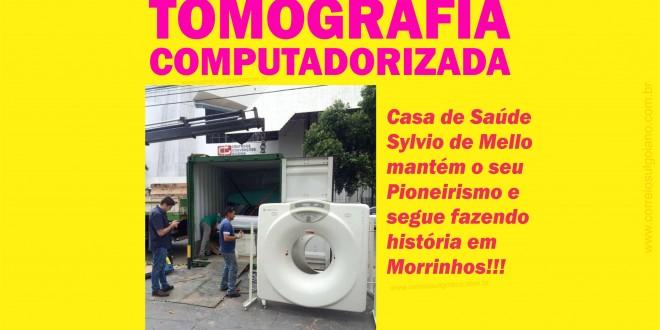 Primeiro Tomógrafo é instalado em Morrinhos… Equipamento deve começar a funcionar em breve no Centro de Diagnóstico Morrinhos