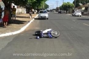 Morte no trânsito: Moto x Carro – Condutora da motocicleta não resistiu aos ferimentos e morreu