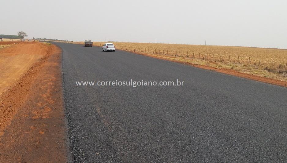 Trecho da rodovia liberado sem sinalização adequada