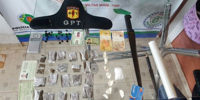 Polícia Militar prende suspeitos de tráfico e apreende drogas em Morrinhos