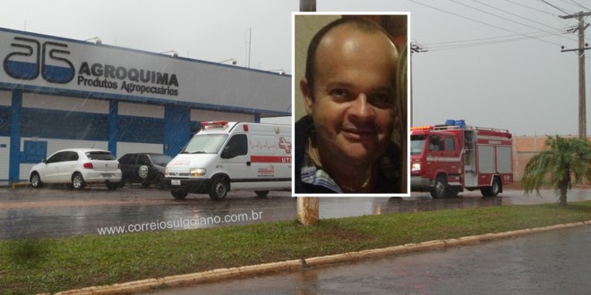 Morre o empresário Fernando Alves que sofreu acidente com um trator! Ele estava na UTI do HUGO e não resistiu aos ferimentos