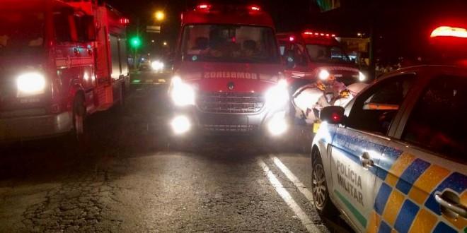 Duas mulheres são atropeladas, na madrugada de domingo, em Morrinhos!