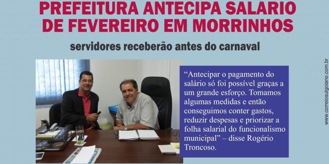 Ponto Facultativo e Salário no Bolso!!! Prefeitura e Câmara Municipal de Morrinhos publicam decretos