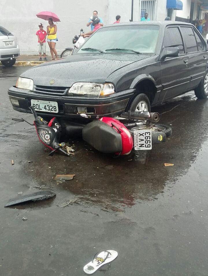 Carro x Moto