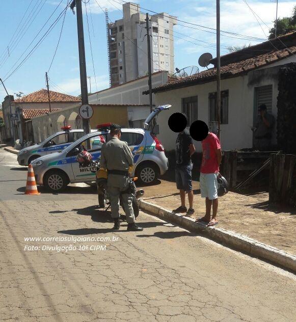 Blitz e Bloqueios da 10ª CIPM em Morrinhos
