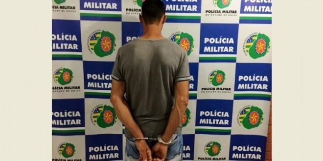 Tentativa de Homicídio: Homem é ferido no tórax por tiro de revólver calibre 38, em Morrinhos. PM prendeu suspeito!