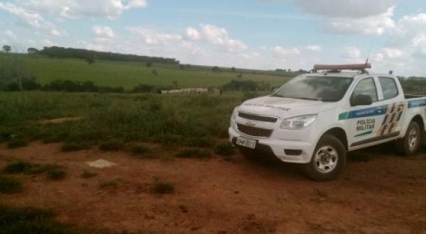 Casal é amarrado e feito refém em fazenda de Morrinhos, enquanto homens roubavam na região Serra