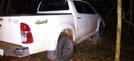 PM de Morrinhos troca tiros com ladrões e recupera caminhonete roubada em Buriti Alegre e Fox roubado em Itumbiara!!!