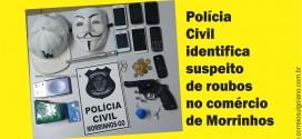 Delegado identifica suspeito de roubos em Morrinhos! Parceria com Prefeitura coloca mais agentes da Polícia Civil nas ruas da cidade