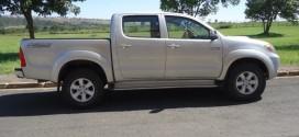 Homem é feito refém e mais uma caminhonete é roubada em Morrinhos. PM age rápido e recupera veículo
