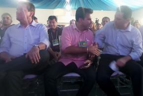 Governador anuncia, em Goiatuba, início do programa Goiás na Frente com investimentos no sul goiano