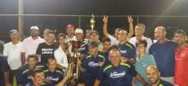 Torneio Society dos servidores da Prefeitura de Morrinhos: SESI/Prefeitura é o grande campeão!