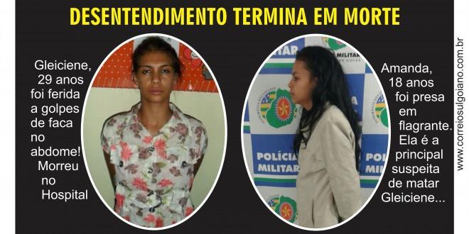 HOMICÍDIO: Morre mulher que foi esfaqueada em Morrinhos, provavelmente por ciúmes!