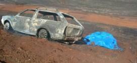 Fogo no canavial: Jovem de 14 anos e criança de 03 morrem carbonizadas. Pai e mãe conseguem se salvar das chamas!