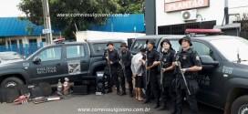 Ladrões roubam em Corumbaíba e na fuga atiram contra a PM. Policiais revidam e um foragido de Sarandi morre baleado