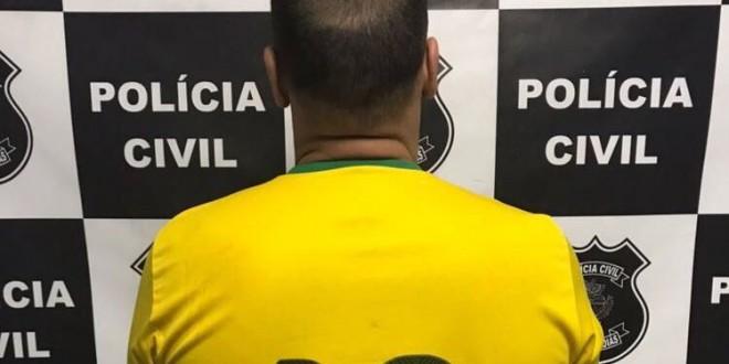 Violência doméstica! Homem é preso em Morrinhos sob suspeita de agredir sua companheira