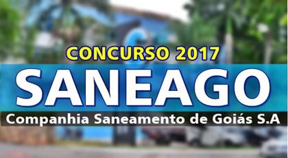 CONCURSO PÚBLICO: Saneago ofertará 338 vagas em todo o estado. Salário de R$ 2.353,96 a R$ 9.262,41