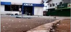 Mais um inocente morre em ação de bandidos que explodiram caixas eletrônicos e foram cercados pelos heróis da Polícia Militar